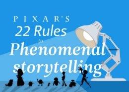 Les 22 règles de storytelling parPixar @bensavalle